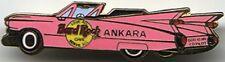 Hard Rock Cafe ANKARA (Closed) 1999 Pink Cadillac CADDY PIN God Is Co-Pilot #285