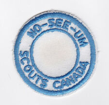 SCOUT OF CANADA - CANADIAN SCOUTS ALBERTA (ALTA) NO-SEE-UM DISTRICT Patch