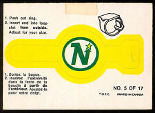 1973 74 OPC O PEE CHEE #5 MINNESOTA NORTH STARS WILD RING LOGO VG-EX HOCKEY CARD
