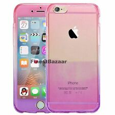 For iPhone 5 5s SE Front & Back TPU Clear 360° Full Body Protective Case Cover