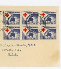 Australia Fdc Cover Scott # 271 - 6/9/1954 Cancellation