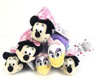 "Lot Of 6 Disney Junior Minnie Mouse To Daisy Duck flipazoo 6"" Plush NEW"