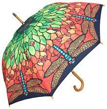 "48"" Tiffany Lamp Shade Auto-Open Umbrella  - RainStoppers Rain/Sun UV Fashion"