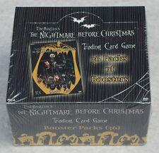 La pesadilla antes de Navidad TCG 36 Pack Caja Nuevo Y Sellado + extra figuras