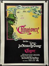 CHINATOWN 1974 30X40 MOVIE POSTER JACK NICHOLSON FAYE DUNAWAY  ROMAN POLANSKI