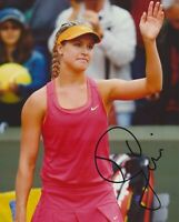 Eugenie Bouchard Autographed Signed 8x10 Photo REPRINT