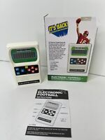 Handheld Electronic Football Retro Game (1970's) Mattel Classic Open Box New