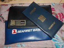 Vintage Zipper Pouch Bank Money Bags +