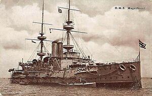 "POSTCARD SHIPS  HMS "" MAGNIFICENT  """
