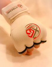 Xtreme Gloves Hand Wraps Padded Gloves Fist Gel Bandages MMA