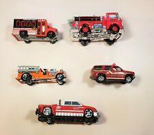 Lot Of 5 Emergency Response Vehicle, Jada, Matchbox, Hot Wheels, Disney Toys