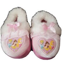 Disney Princess Target Slippers Toddler Child 5/6 - Belle, Cinderella and