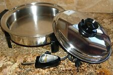 "LIQUID CORE ELECTRIC SKILLET 9.5"" CAT.NO. 010OCU"