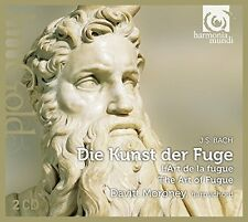 Davitt Moroney - JS Bach Die Kunst der Fuge (The Art of Fugue) [CD]