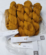 Shibui Cima Brass Alpaca Merino Laceweight yarn Single Skein