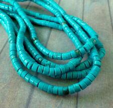 Disco Howlite Beads filamento de 140 Piedras Preciosas Perlas