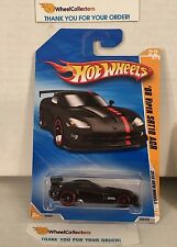 '08 Viper SRT10 ACR #22 * BLACK * 2010 Hot Wheels * D8