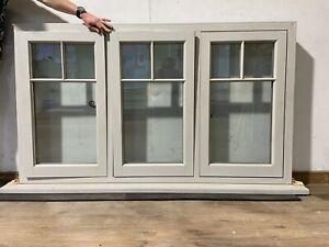 TIMBER WINDOWS WOODEN CASEMENT WINDOW-SILK GREY RAL 7044-EXTERNAL-EXTERIOR-LARGE