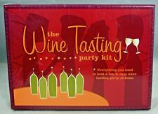 The Wine Tasting Party Kit (2005, Kit) New