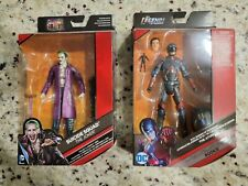 "DC Multiverse ~ 6"" THE ATOM & Suicide Squad Joker ACTION FIGURES Mattel"