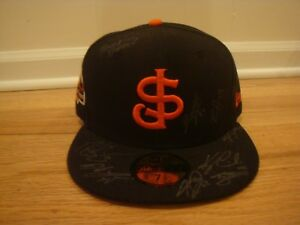 San Jose Giants hat cap 7 3/8 2013 All Star Game Side Patch Autograph Signed