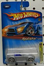 FORD SHELBY CONCEPT REALISTIX 2005 1ST EDITION SILVER COBRA 001 1 HW HOT WHEELS