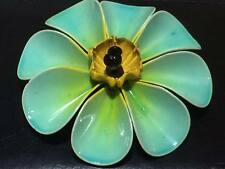 Vintage floral enamel brooch