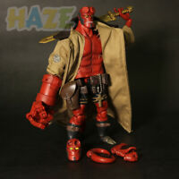 1/12 Movie Hellboy PVC Figure Model in Box Cloth down Version 18CM New