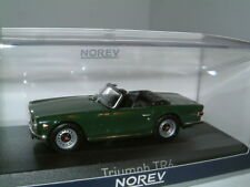 1/43 TRIUMPH TR6 IN BRG, RHD, UK, 1970. OPEN SPORTS CAR, CLASSIC. NOREV, NEW.
