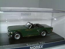 1/43 TRIUMPH TR6 BRG, RHD, ROYAUME-UNI, 1970. Ouvert Voiture de sport, classique. NOREV, Neuf.