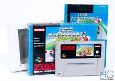 Super Mario Kart Boxed - Super Nintendo SNES Retro Game Cartridge PAL