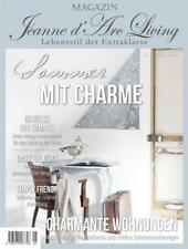 Jeanne d´Arc Living Zeitschrift Nr.5 2018 Brocante JDL Vintage Magazin Chic