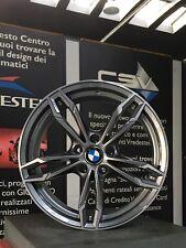 KIT 4 CERCHI IN LEGA BMW DA 18 OMOLOGATI NAD GMP ITALIA MODELLO DEA