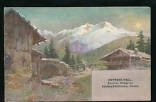 London I.R. Austrian Exhibition Earls Court 1906 PPC Tyrolian Village
