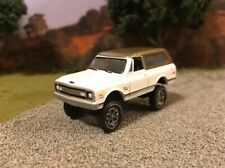 1969 Chevy Blazer 4x4 Lifted Custom 1/64 Diecast Truck Off Road 4WD K5