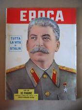 EPOCA n°127 1953 Tutta la vita di Stalin  [G770]