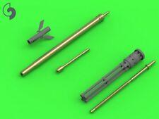 Master 1/48 Mi-24 (Hind D/e) - jakb - 12.7 máquina pistola barril & dos sonda # 48126