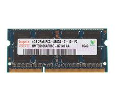 Hynix 4GB PC3-8500 DDR3-1066MHZ 204-pin Memory RAM For MacBook Pro Imac Mac Mini