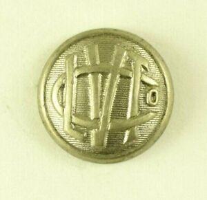 C. 1900 Lehigh Valley Traction Company Railroad Employee Uniform Button F8