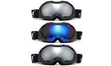 Addult Cloud 9 Ski Goggles Snowboard Anti-Fog Scratch Resist Shatterproof Lens