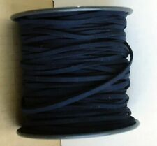"Faux Suede Leather Cord Suede Lacing 1//8/"" 3 mm Charcoal Gray Roll 100 yds #12"
