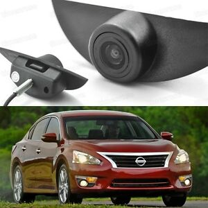 170° Degree Car Front View Camera CCD Logo Embedded for Nissan Altima 2013-2016