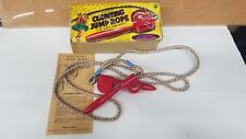 Vintage PRESSMAN COUNTING JUMP ROPE TOY Made in USA Jumping Rope with box