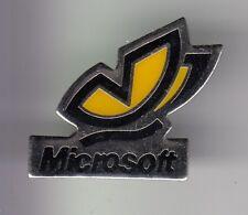 RARE PINS PIN'S .. INFORMATIQUE PC COMPUTER MICROSOFT PAPILLON BUTTERFLY  ~DL