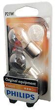 Philips p21w Vision 12v ba15s blister luz de freno 2st. 12498b2 luz trasera