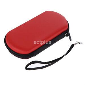 Hard Zipped EVA Pouch Travel Case Carrying Bag for Sony PSP PS Vita PSV2000/1000