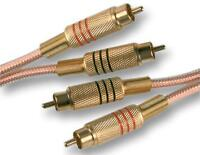LEAD 2 X PHONO TO 2 X PHONO GOLD 0.5M - Audio & Video - Cable Assemblies