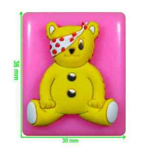Pudsey Bear Mould by Fairie Blessings
