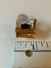 Swarovski Crystal Mini Baby Grand Piano Miniature Collectible Keepsake Figurine