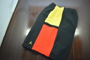 Nike Jordan Basketball Gym Shorts Dri Fit Black With Pockets Mens Size 2XL XXL